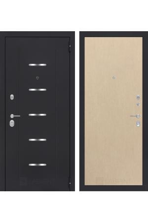 Входная металлическая дверь Лабиринт АЛЬФА 05 - Венге светлый, Венге, Итальянский орех