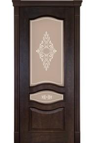 Межкомнатная дверь Алина-2 кофе
