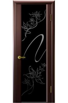 Межкомнатная дверь Альмека венге.