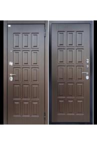 """Входная металлическая дверь Аргус """"ДА-40 венге тиснёный"""