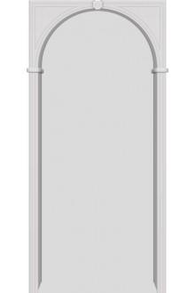 Межкомнатная ПВХ арка  Белый