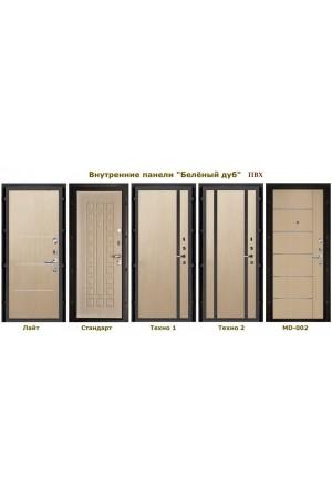 Дверь входная металлическая в квартиру Сенатор Стандарт с замком CISA Венге-Вена