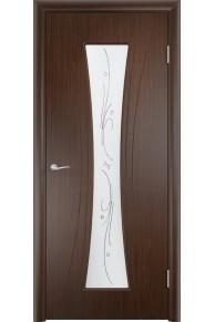 Межкомнатная дверь   Богемия венге