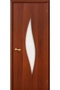 Ламинированная дверь 12С итальянский орех