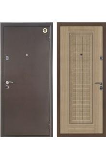 Входная металлическая дверь Бульдорс 12С (светлый венге).