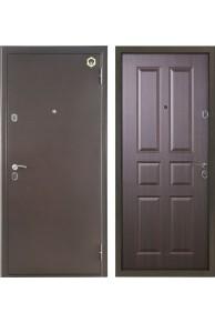Входная металлическая дверь Бульдорс 12С (тёмный венге).