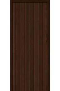 Межкомнатная раздвижная дверь (Гармошка) -008 Венге