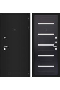 Входная металлическая дверь Лабиринт CLASSIC шагрень черная 01 - Венге или Беленый дуб