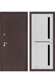 Входная металлическая дверь CLASSIC антик медный 02 - Сандал белый, Венге