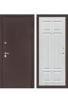 Входная металлическая дверь Лабиринт CLASSIC антик медный 08 - Кристалл вуд