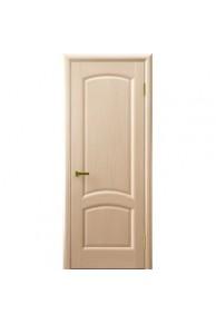 Межкомнатная дверь глухая Лаура беленый дуб