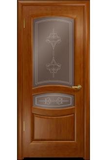 Межкомнатная дверь остекленная Анастасия анегри 74