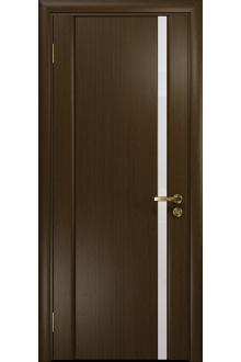Межкомнатная дверь остекленная Модерн-1 ПО венге