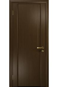 Межкомнатная дверь глухая Модерн-1 ПГ венге