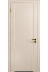 Межкомнатная дверь глухая Модерн-1 ПГ беленый дуб