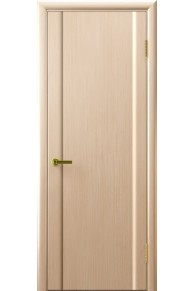 Межкомнатная дверь глухая Модерн-3 беленый дуб