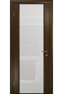 Межкомнатная дверь остекленная Модерн-3 венге