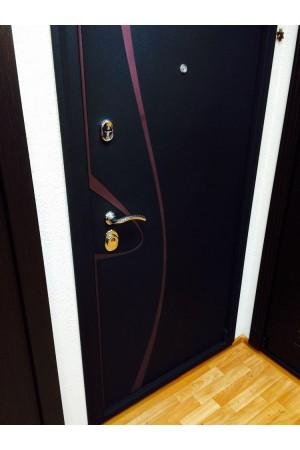 """Входная  дверь Империя """"Византия"""" Дуб беленый поперечный"""