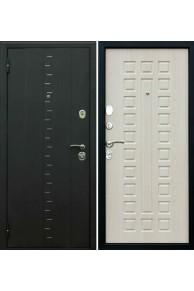 """Входная дверь Империя """"Агата 3"""" Муар чёрный - белёный дуб"""