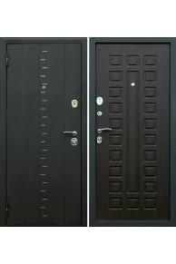 """Входная дверь Империя """"Агата 3"""" Муар чёрный - венге"""