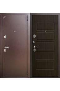 Входная дверь ZETTA Eвро 2 Б2 Орех тёмный.