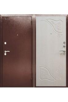 Входная металлическая сейф дверь Аргус ДА-15 Веста Дуб беленый