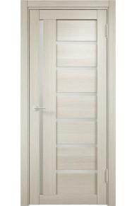 Межкомнатная дверь ЭКО 02 белёный дуб мелинга