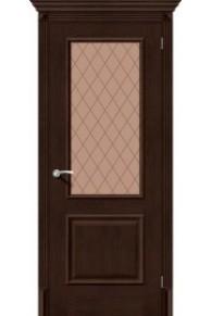 Межкомнатная дверь с эко шпоном Классико-13 Antique Oak
