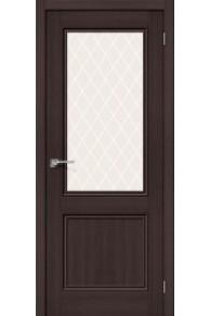 Межкомнатная дверь с эко шпоном Порта-63 ПО venge veralinga