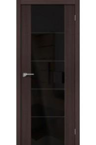 Межкомнатная дверь с Эко шпоном V4 venge veralinga black star