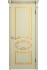 Межкомнатная дверь шпонированная Фламенко глухая