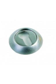 Накладка под цилиндр ETD никель(серебро).