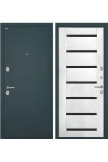 Входная  металлическая дверь Интекрон Греция 1 шпон Ясень жемчуг