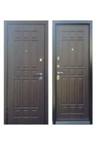 Входная металлическая дверь Персона ТЕХНО 3 Дуб мореный