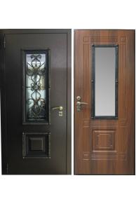 Входная металлическая уличная дверь Ажур.