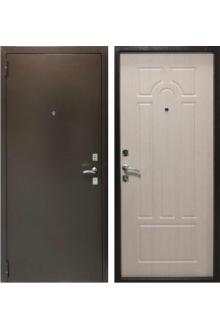 Входная металлическая  дверь Бюджет Беленый дуб.