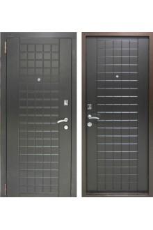 Входная металлическая дверь  Бюджет Шоколад венге.