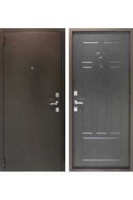 Входная металлическая  дверь Бюджет венге.