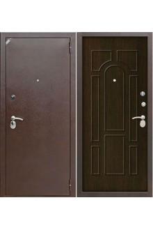 Входная  металлическая дверь Зетта Комфорт 2 Б1 Тиковое дерево.