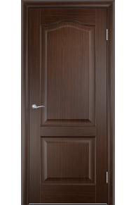 Межкомнатная дверь   Классика  венге глухая