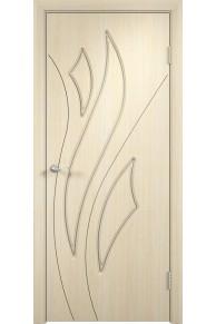 Межкомнатная дверь Латина белённый дуб глухая.