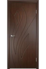 Межкомнатная дверь Латина венге глухая.