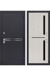 Входная металлическая дверь Лабиринт LINE 02 - Сандал белый
