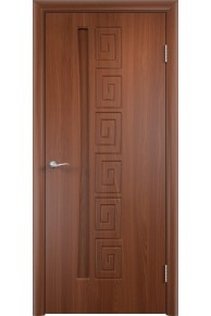 Межкомнатная дверь Омега итальянский орех