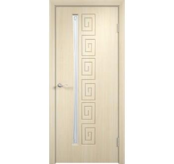 Межкомнатная дверь Омега белённый дуб.