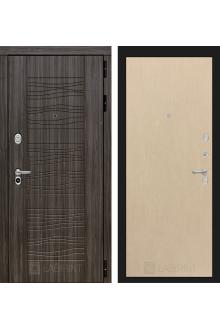 Входная металлическая дверь Лабиринт SCANDI 05 - Венге светлый, Венге