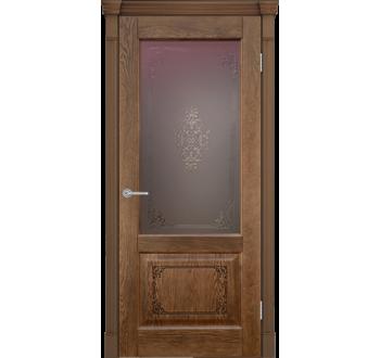 Межкомнатная дверь Шервуд 3D миндаль