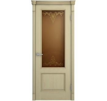 Межкомнатная дверь Шервуд дуб слон.кость