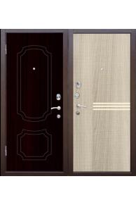 Входная дверь Зетта Стандарт 3 (орех темный)