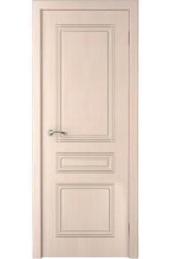 Межкомнатная дверь Стиль (КРОНА) белёный дуб глухая